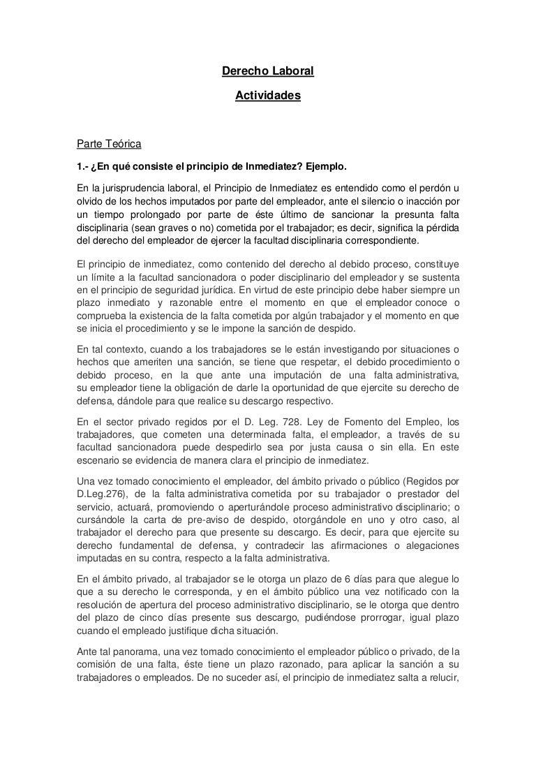 formato de informe laboral - Selo.l-ink.co