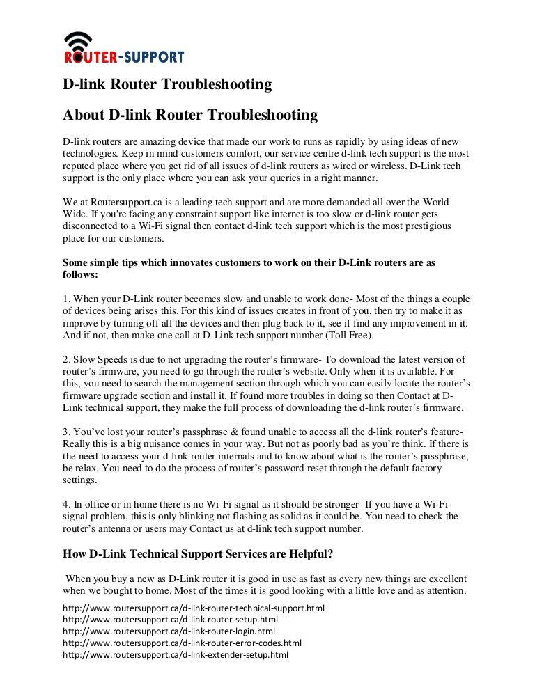 D-link Router Support Number|1-844-202-9834|Number$Troubleshooting$D…
