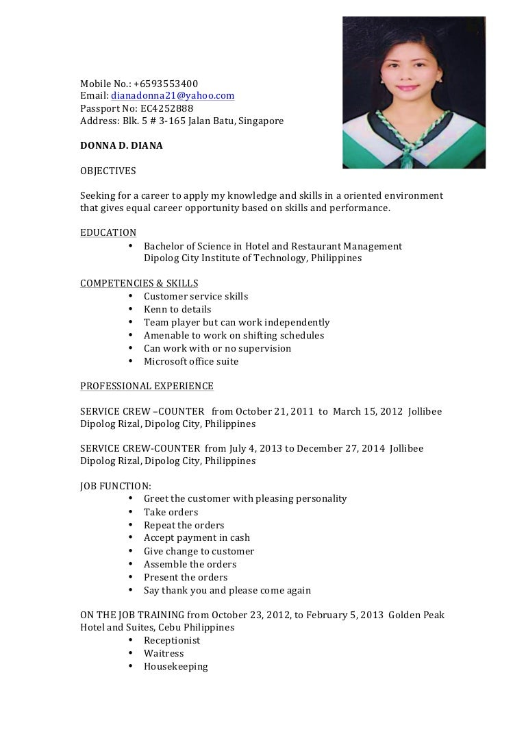 Resume example for ojt hrm resume ixiplay free resume samples resume resume example for ojt hrm sample resume of hrm students for ojt frizzigame frizzigame yelopaper Choice Image