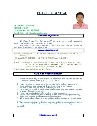 Lifeguard Resume Resume Format Download Pdf Brefash Breakupus Interesting  Resume Samples The Ultimate Guide Livecareer With  Lifeguard Resume Description