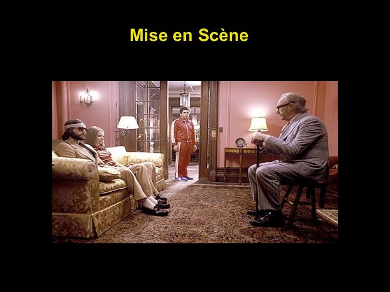 use of the mise en scene in tv shows and movies The mise-en-scene is all in encompassing of a film the shot is about what occurs in a defined area of space, bordered by the frame of the movie screen and determined by what the camera has been made mise en scene is made up of many different aspects of film each of these aspects is worth.