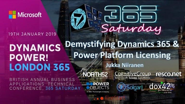 Demystifying Dynamics 365 & Power Platform Licensing