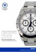 Unreserved Prestige Catalogue - 25th Sept 2015