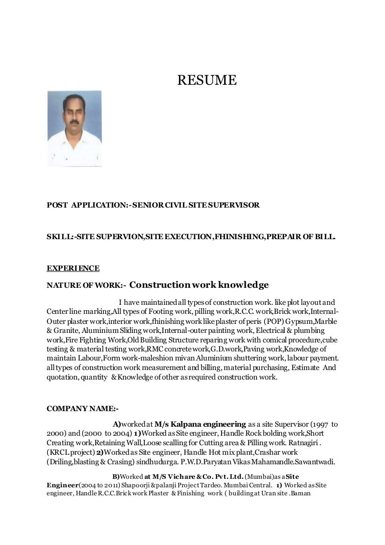 building superintendent resume doc bestfa tk template net