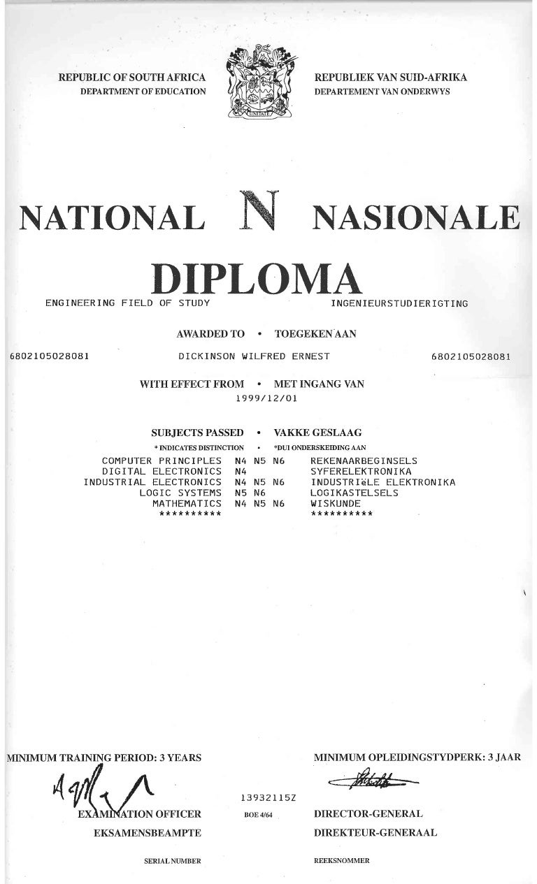 national n6 diploma engineering