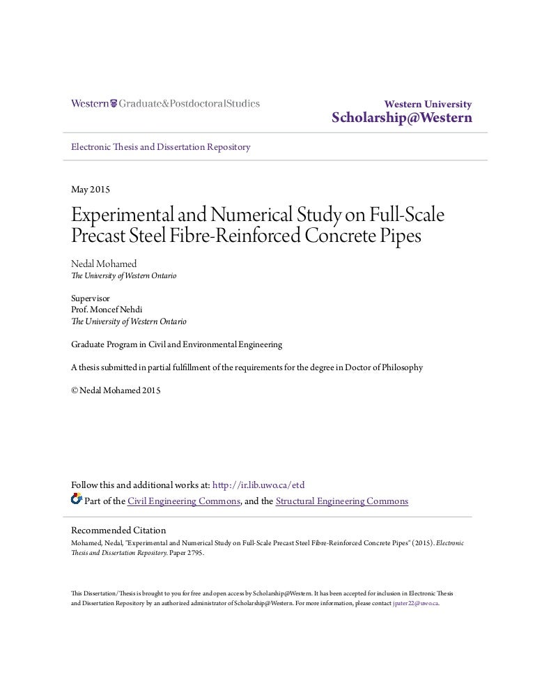 Experimental and Numerical Study on Full-Scale Precast SFRC