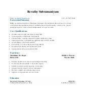 Distribution supervisor resume