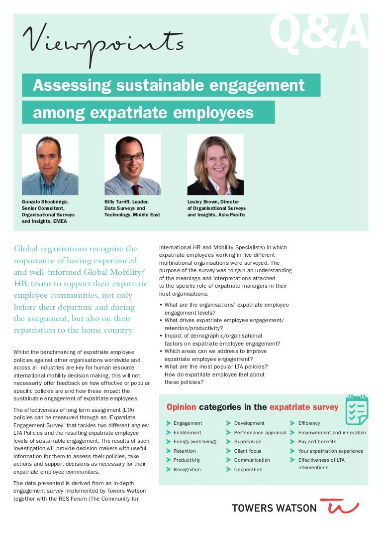 TW-EU-2014-39168 Viewpoint sustainable engagement expatriate