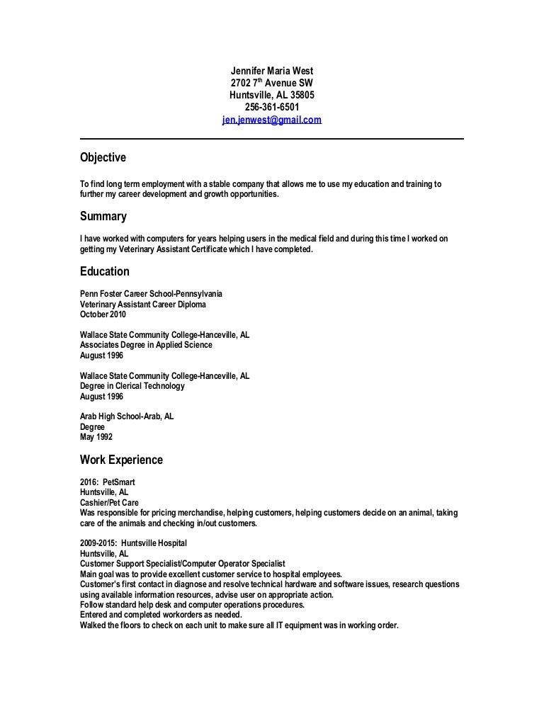 Jennifer Maria West resume - Copy