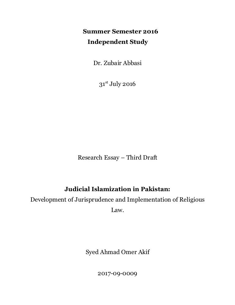 judicial islamization in development of jurisprudence and