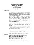 NEW RES RESUME R2 Updated 2015