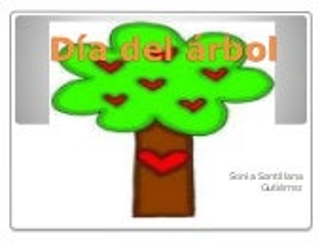Día del árbol