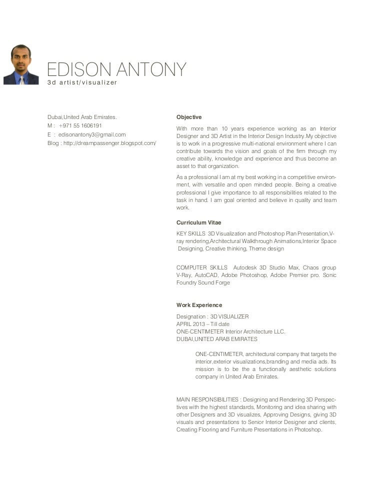 Edison Resume