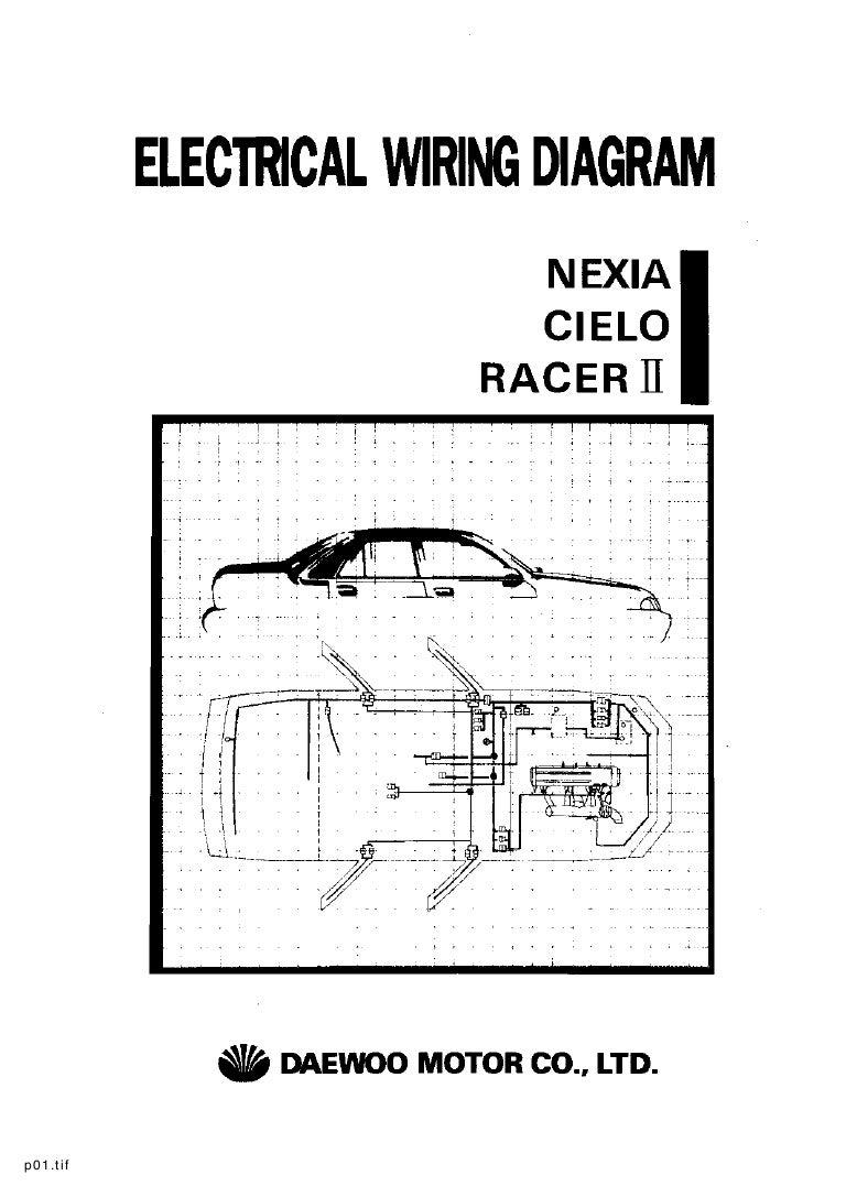 Daewoo Ac Wiring Diagram Library Engine Diagrams Service Electrical Manual