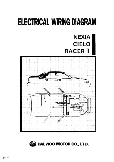 resumen manual daewoo cielo rh slideshare net  daewoo nexia cielo racer ii electrical wiring diagram