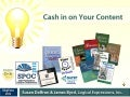Susan Daffron and James Byrd: Cash in on Your Content