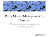 Daily Money Management For Seniors In RI - Household Budgeting And Bill Paying Services