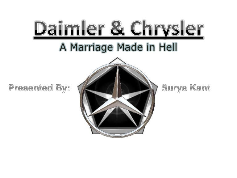 Daimler chrysler merger