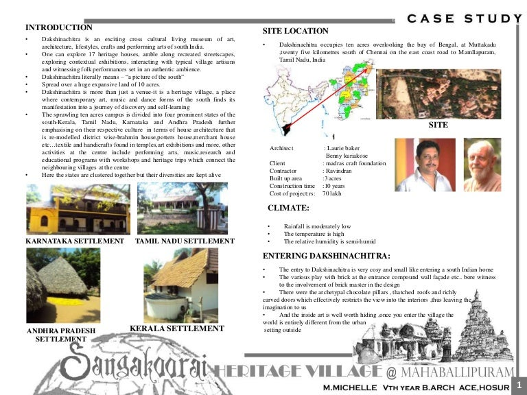 Dakshinachitra case study