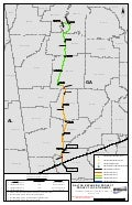 Williams Transco Dalton Expansion Project Map