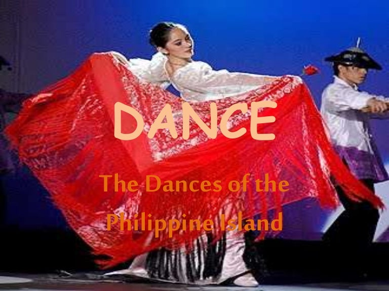 what is the national dance of the philippines