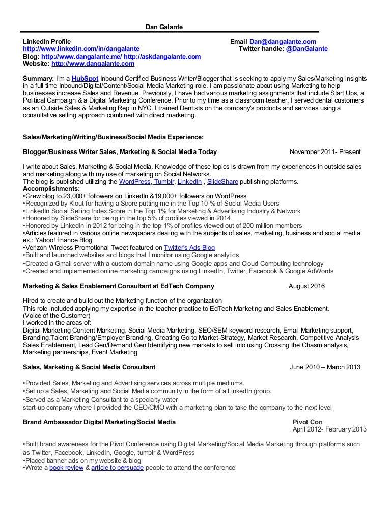 marketing resume digital marketing  social media marketing  content mar u2026