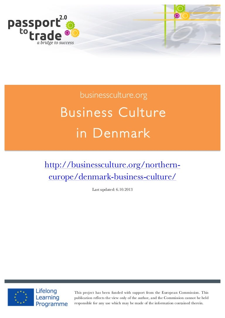 Danish business culture guide learn about denmark reheart Choice Image