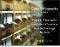 Open Bibliographic Data - elag2010