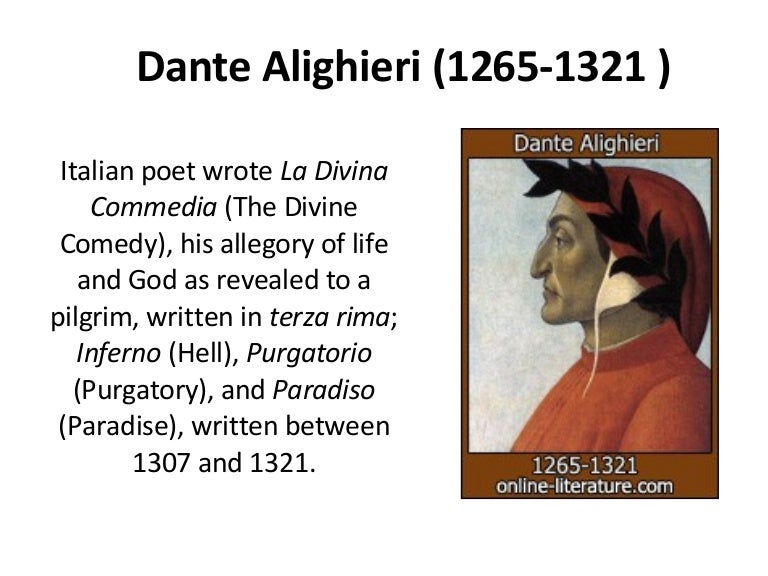dante alighieri a poetic descent into Dante alighieri: a poetic descent into metaphorical hell abandon all hope, ye who enter here only through a journey into hell can we hope to attain paradise his early life: dante alighieri was born under the sign of gemini, he was thought to be born on may 29, but this is not certain.