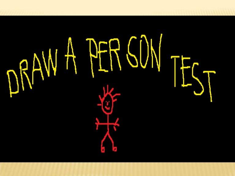 dap 1 rh slideshare net Draw a Person Test Manual Draw a Person Personality Test