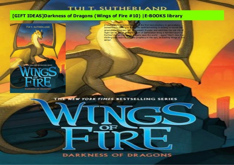 Gift Ideas Darkness Of Dragons Wings Of Fire 10 E Books Library