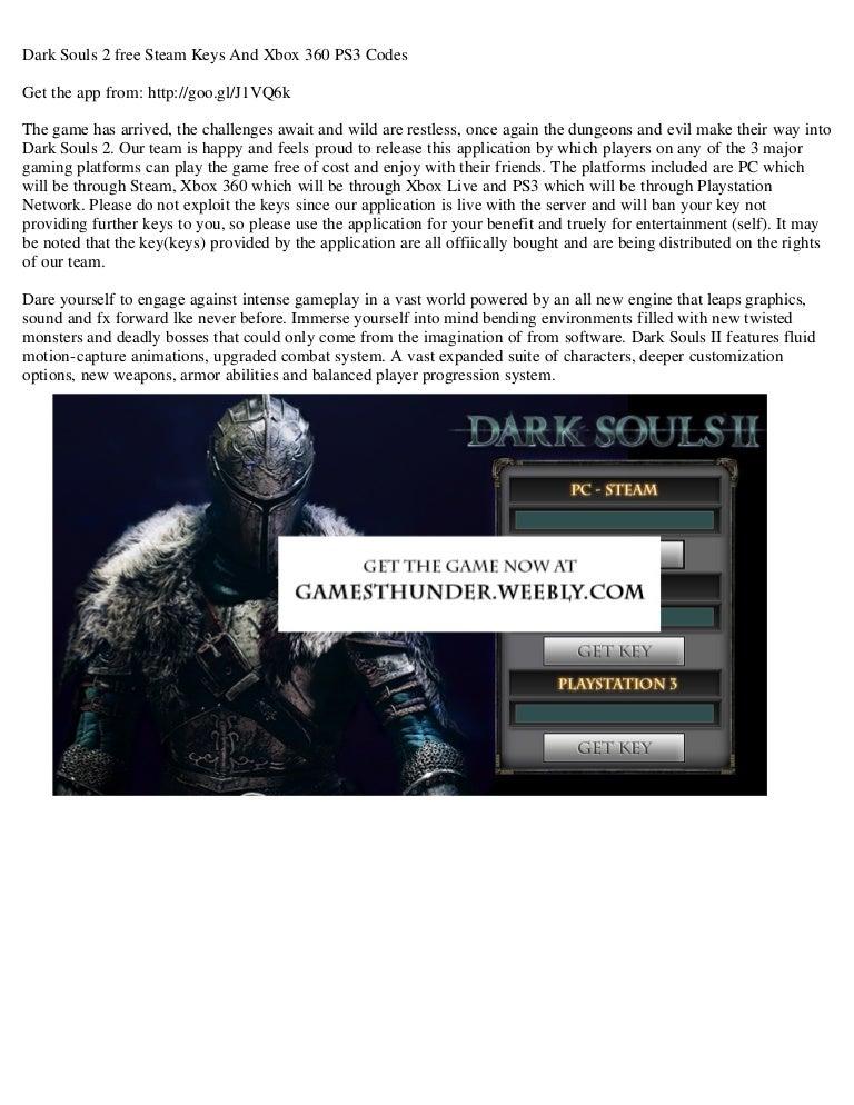 free dark souls 3 steam key