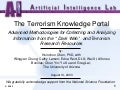 The Terrorism Knowledge Portal: Advanced Methodologies for Collecting and Analyzing Information from the 'Dark Web' and Terrorism Research Resources