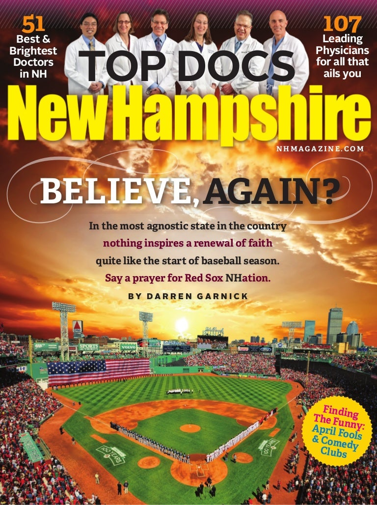 Believe, Again? - Redemption For the 2013 Red Sox - NH Magazine Cover…
