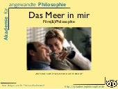 Film(&)Philosophie: Das Meer in mir