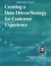 [REPORT PREVIEW] Creating a Data-Driven Strategy for CX