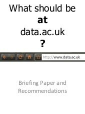 data.ac.uk briefing paper