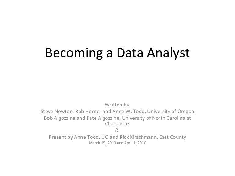 Data Analyst Role