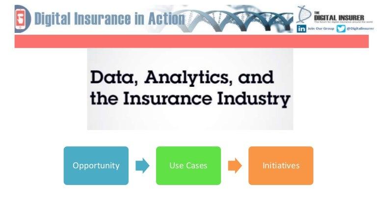 Data Analytics in Insurance