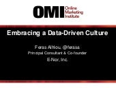Embracing a Data-Driven Culture