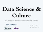 Data Science and Culture
