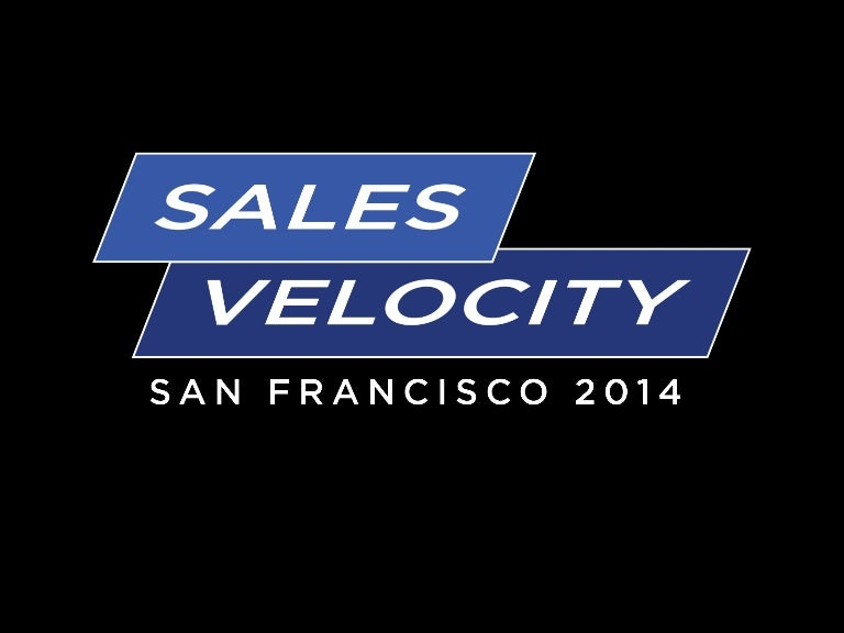 Datahug - Sales Velocity-2014 - A Smarter Way to Accelerate Sales