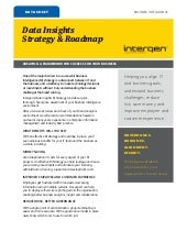 Data Insights Strategy and Roadmap
