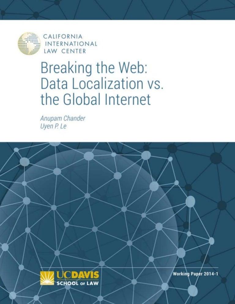 Data localization vs global internet