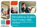 Demystifying Student Data Privacy Q&A