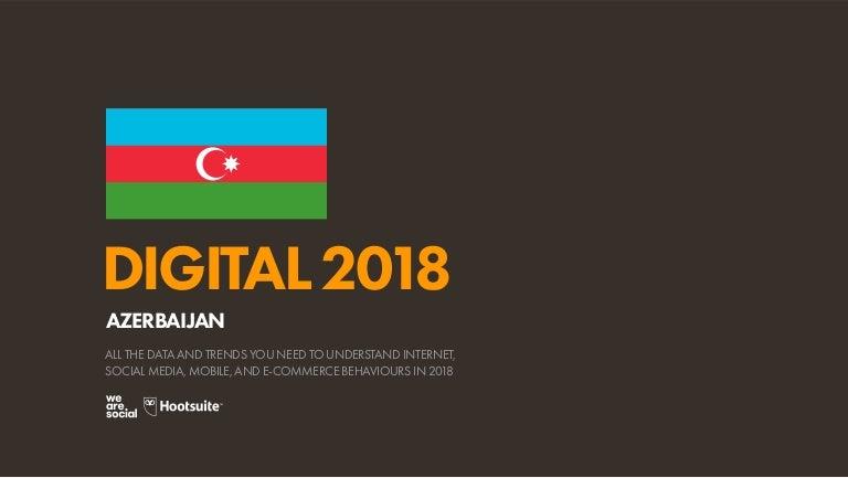 Digital 2018 Azerbaijan January 2018
