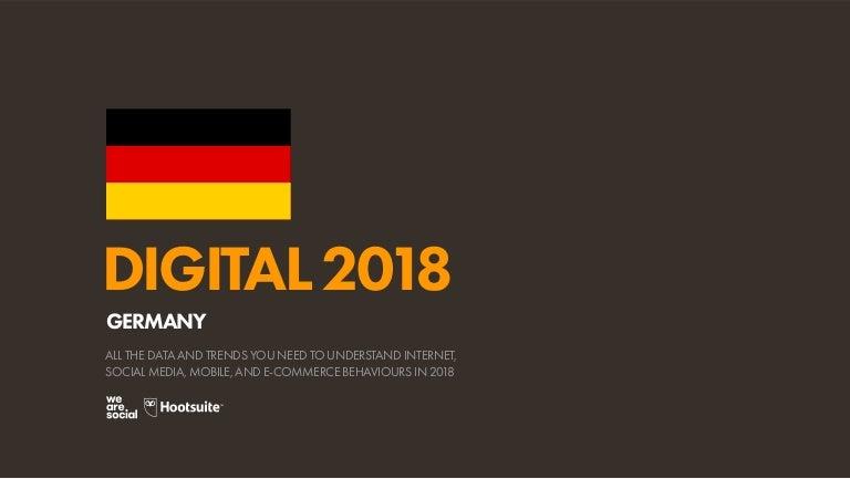 uk availability e0e83 be265 Digital 2018 Germany (January 2018)