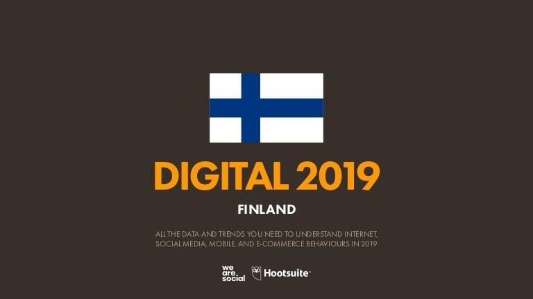 Digital 2019 Finland (January 2019) v01