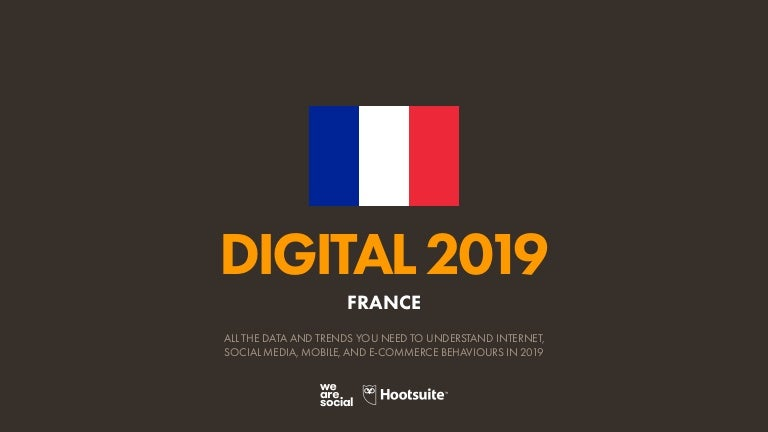Digital 2019 France En January 2019 V01