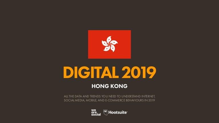 Digital 2019 Hong Kong (January 2019) v01